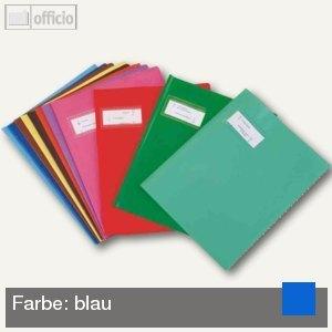 "Elba Heftschoner ""Styl'SMS"", 240 x 320 mm, PVC, blau, 25 Stück, 400021229"
