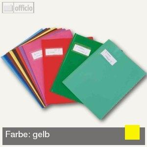 """Elba Heftschoner """"Styl'SMS"""", 240 x 320 mm, PVC, gelb, 25 Stück, 400021230"""