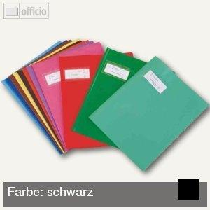 "Elba Heftschoner ""Styl'SMS"", 240x320mm, PVC, schwarz, 25 Stück, 100205261"