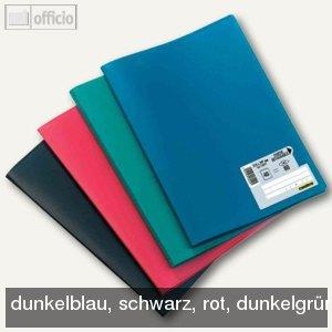 """Sichtbuch """"Memphis"""", DIN A4, mit 20 Hüllen, farbig sortiert, 10St., 100206070"""