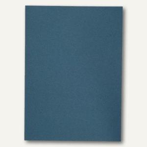 Elba Aktendeckel A4, ohne Druck, Manilakarton 250 g/qm, blau, 100 St., 100091649