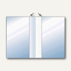 Hetzel Ausweishülle, 2 x A5 / 153 x 210 mm, PVC, genarbt, 10 Stück, 234940