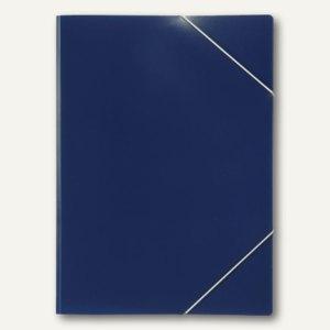 Elba Eckspanner image, DIN A4, für 50 Blatt, PP, dunkelblau, 100555331