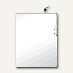 Hetzel Sichthülle Standard, DIN A4, PP, 120 my, glasklar, 10 Stück, 21673190