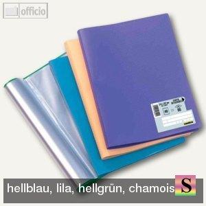 """Elba Sichtbuch """"Memphis"""", DIN A4, mit 40 Hüllen, PP, sortiert, 10 St., 100206216"""