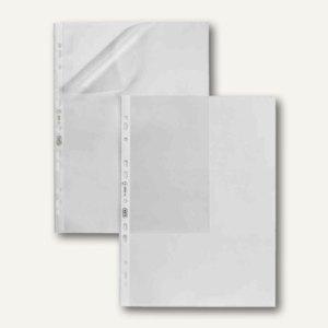 Elba Prospekthüllen, DIN A4, oben offen, 50 my, PP genarbt, 100 St., 100206882