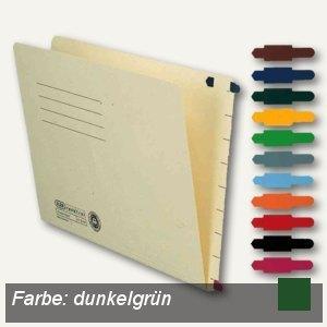 Stecksignal für Einstellmappen, 15 x 55 mm, PVC dunkelgrün, 100 St., 100420849
