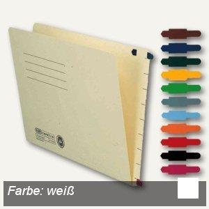 Elba Stecksignal für Einstellmappen, 15 x 55 mm, PVC weiß, 100 St., 100552030