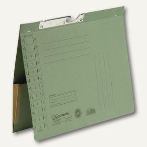Elba Pendelhefter mit Tasche, Amtsheftung, 320 g/m², grün, 50 Stück, 100570020