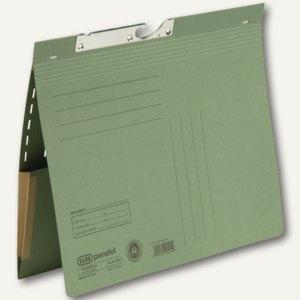 Elba Pendelhefter mit Tasche, kaufm.Heftung, 320 g/qm, grün, 50 St., 100570024