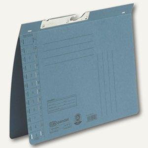 Elba Pendelhefter DIN A4, Amtsheftung, 320 g/m², blau, 50 Stück, 100560086