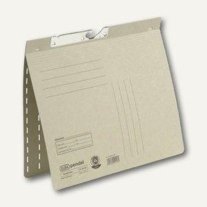 Elba Pendelhefter DIN A4, kaufm. Heftung, 320 g/m², grau, 50 Stück, 100560103