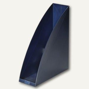 Elba Stehsammler go-box, für DIN A4, Kunststoff, blau, 4 St., 100552005