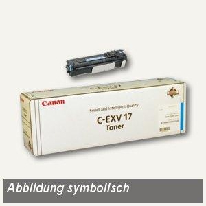 Canon Trommeleinheit IRC4580I, ca. 60.000 Seiten, cyan, CEXV17, 0257B002