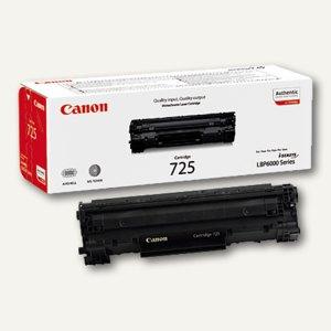 """Canon Tonerkartusche """"725"""", ca. 1.600 Seiten, schwarz,, 3484B002"""