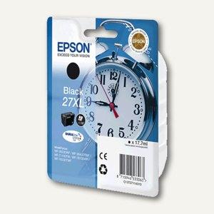 Epson Tintenpatrone Nr. 27XL, 17.7 ml, schwarz, C13T27114010
