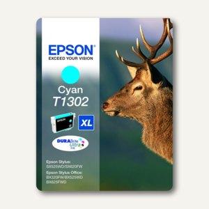 Epson Tintenpatrone T1302 XL, cyan, C13T13024010