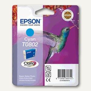 Epson Tintenpatrone T0802, cyan, C13T08024011