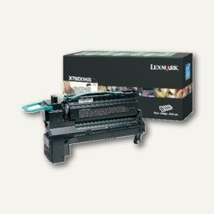 Lexmark Rückgabe-Lasertoner für X792, ca. 20.000 Seiten, schwarz, X792X1KG
