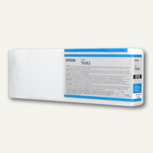 Epson Tintenpatrone UltraChrome HDR 700 ml, hellcyan, C13T636200