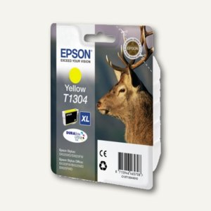 Epson Tintenpatrone T1304 XL, gelb, C13T13044010