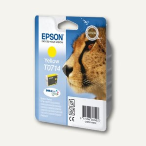 Epson Tintenpatrone T0714, gelb, C13T07144011