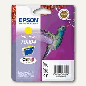 Epson Tintenpatrone T0804, gelb, C13T08044011