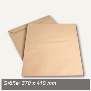 Röntgenfilmtasche 370 x 410 mm, 120g/m², ohne Klebung, Natron braun, 250 St.