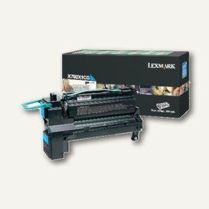Lexmark Rückgabe-Lasertoner für X792, ca. 20.000 Seiten, cyan, X792X1CG