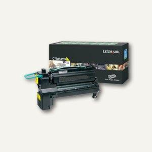 Lexmark Rückgabe-Lasertoner für C792, ca. 6.000 Seiten, gelb, C792A1YG