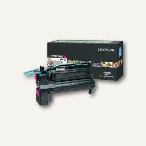 Lexmark Rückgabe-Lasertoner für C792, ca. 20.000 Seiten, magenta, C792X1MG