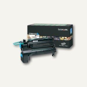 Lexmark Rückgabe-Lasertoner für C792, ca. 6.000 Seiten, cyan, C792A1CG