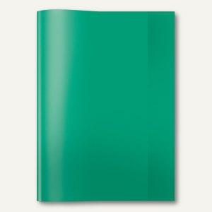 Heftschoner PP DIN A4 transparent/grün