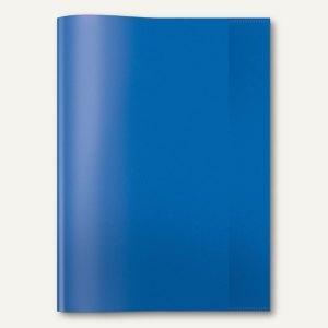 Heftschoner PP DIN A4 transparent/blau
