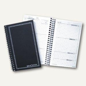 Kalendereinlage DIN A7 für Mini-Systemplaner m. Spiralung