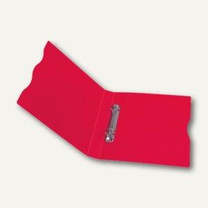 dataplus Ringbuch Trend A5, Ø 15 mm, rot-transparent, 5er-Pack, 28052820