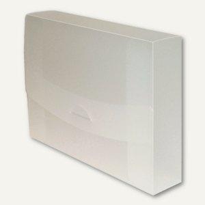 dataplus Sammelmappe 45, DIN A4, natur-transparent, 27445086