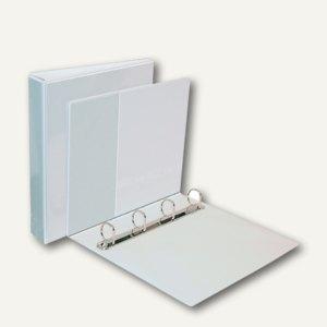 dataplus Präsentationsringbuch DIN A4, 4-Ring Ø 50 mm, weiß, 10 St., 16244070