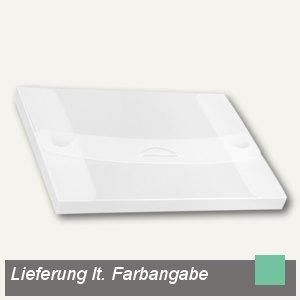 dataplus Sammelmappe, DIN A4, bis 200 Blatt, grün-transparent, 10 St., 27420830