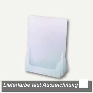 dataplus Tisch-Prospektständer A5, weiß, 10 Stück, 61050070