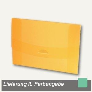 dataplus Sammelmappe 05, DIN A4, grün-transparent, 27405830