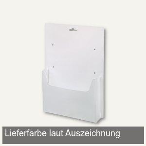 dataplus Wandprospekthalter A4, transparent, 20 Stück, 62040086