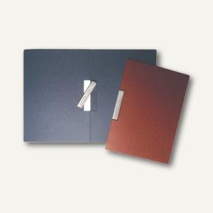 dataplus Karton-Klemmhefter, DIN A4, 320 g/m², stahlblau, 22042016