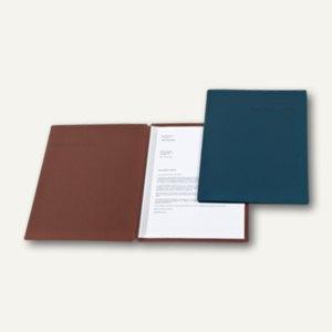 dataplus Dokumentenmappe Slide S, DIN A4, 320g/m², weinrot, 25 Stück, 22542.026