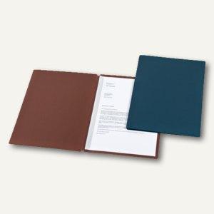 dataplus Dokumentenmappe Slide S, DIN A4, 320 g/m², stahlblau, 25 Stück,22542016