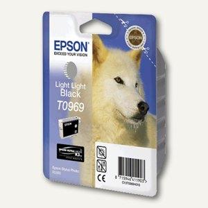 EPSON Tintenpatrone T0969, hell-hell-schwarz, C13T09694010