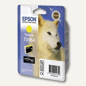 EPSON Tintenpatrone T0964, gelb, C13T09644010