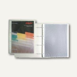 dataplus Prospekthüllenhefter, DIN A4, 50 my, PP, natur-transparent, 25244086