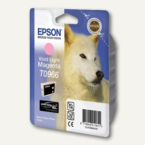 Epson Tintenpatrone T0966, vivid hell-magenta, C13T09664010