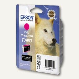 Epson Tintenpatrone T0963, vivid magenta, C13T09634010
